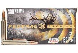 Federal 300Win Mag Barnes TSX 180gr 20 Schuss