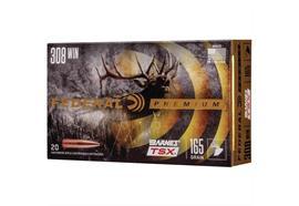 Federal 308Win Barnes TSX 165gr 20 Schuss