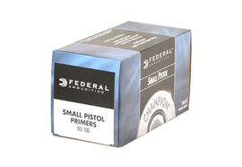 Federal Small Pistol Primer No. 100 1000 Stück/Box