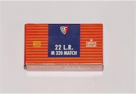 Fiocchi 22L.r M320 Match 50 Schuss