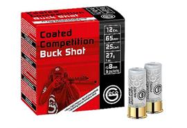 Geco 12/65 Buckshot 8mm 25 Schuss