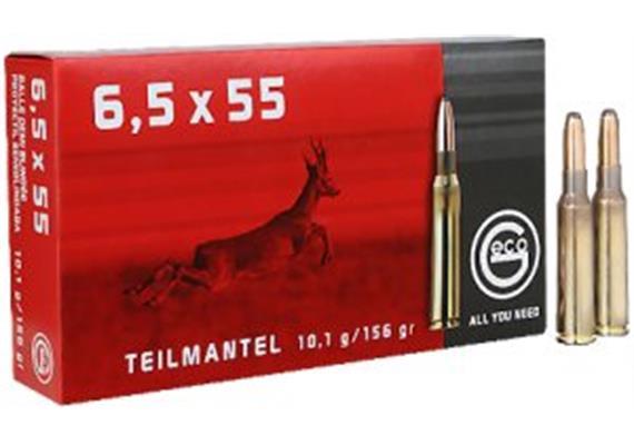 Geco 6.5x55 10.1g TM 20 Schuss
