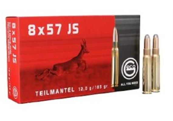 Geco 8x57IS 12.0g TM 20 Schuss