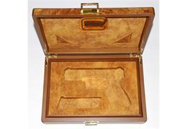 Holzbox Alcantara Auskleidung Glock
