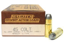 Magtech 45 Colt 250gr Flat 50 Schuss