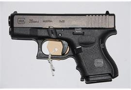 Pistole Glock 26 9mm Para