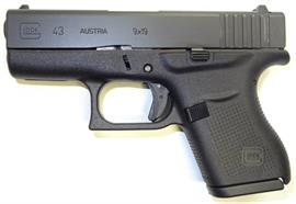 Pistole Glock 43 9mm para