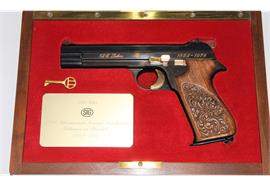 Pistole SIG P210 125 Jahre SIG 9mm Para