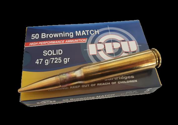 Privi Partizan 50 BMG 725gr Solid 5 Schuss