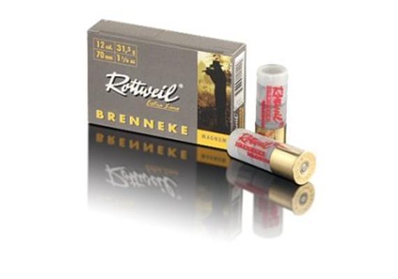 Rottweil 12/70 FLG 31.5g Brenneke Magnum 5Schuss