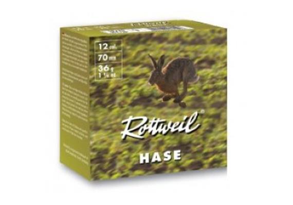 Rottweil 12/70 Hase 36g No3-3.5mm 25 Schuss