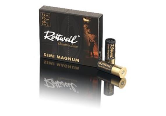 Rottweil 12/70 SemiMagnum 40g No4-3.2mm10Schuss