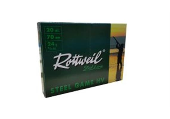 Rottweil 20/70 Steel Game 24g No4-3.25mm 10Schuss