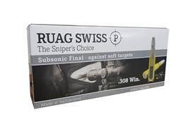 Ruag .308 Win 200 gr. Subsonic Final 20 Schuss