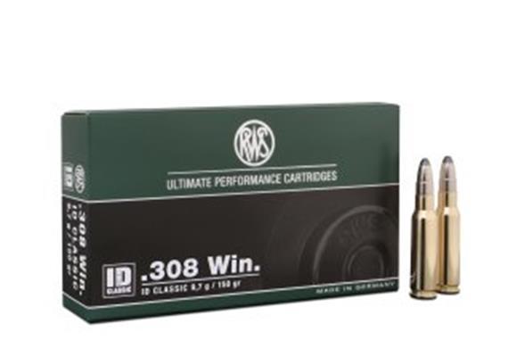 RWS .308 Win 9.7g ID Classic 20 Schuss