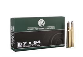 RWS 7x64 10.5g ID Classic 20 Schuss
