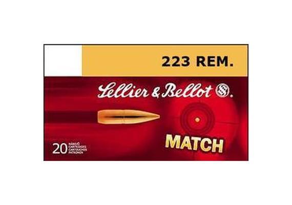 Sellier & Bellot .223 Rem 69 Gr HPBT 20 Schuss