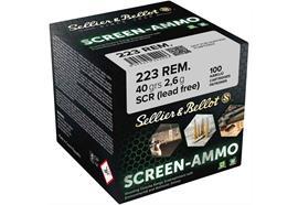 Sellier & Bellot 223Rem SCR.Zink 40g 100 Schuss
