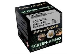 Sellier & Bellot .308 Win SCR.Zink 124g 50 Schuss