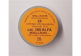 Sellier & Bellot .380 Alfa 25 Schuss