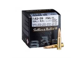 Sellier & Bellot 7.62x39 124gr FMJ 50 Schuss