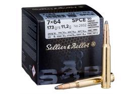 Sellier & Bellot 7x64 SPCE 173 grs. 50 Schuss