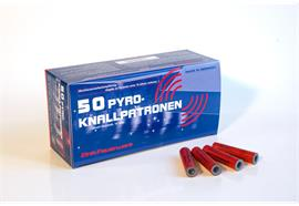 Zink Knallpatronen 15mm 50 Schuss