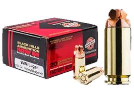 Black Hills HoneyBadger Cal. 9mm Para 20 Schuss