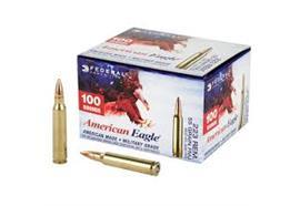 Federal 223 Rem 55gr FMJ 100 Schuss