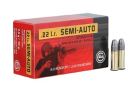 Geco .22 Long Rifle Semi Auto 50 Schuss