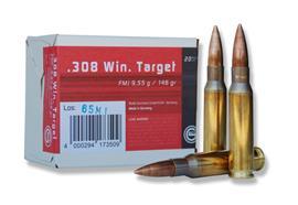 Geco .308 Win 9.55g Target 20 Schuss