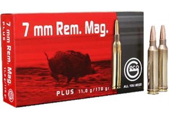 Geco 7mm Rem Mag 11g Plus 20 Schuss