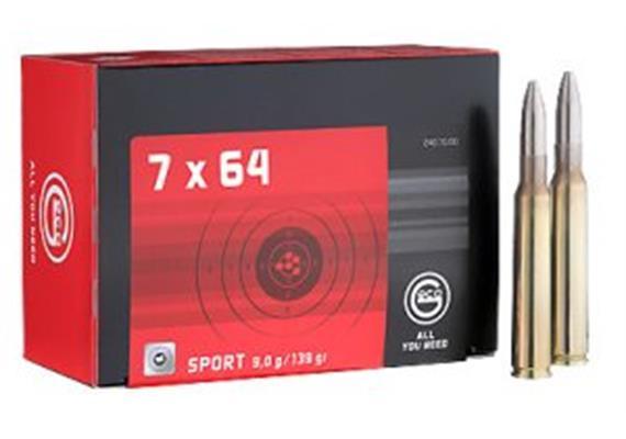 Geco 7x64 9.0g Sport SG 50 Schuss