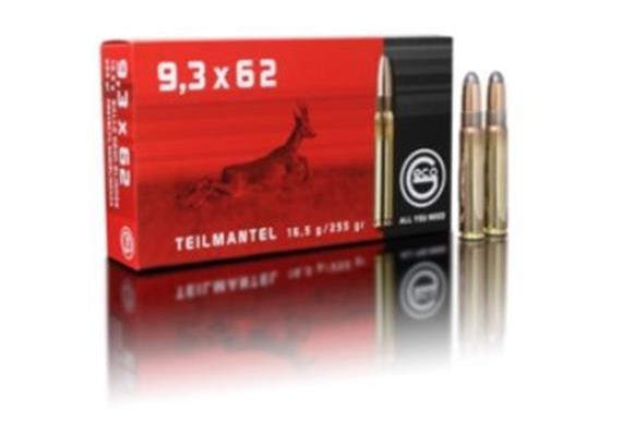 Geco 9.3x62 16.5g TM 20 Schuss