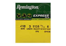 Remington 410/76 Express ELR No. 6 25 Schuss