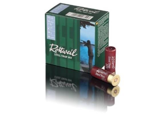 Rottweil 12/70 Steel Trap 28g 2.5mm 25 Schuss