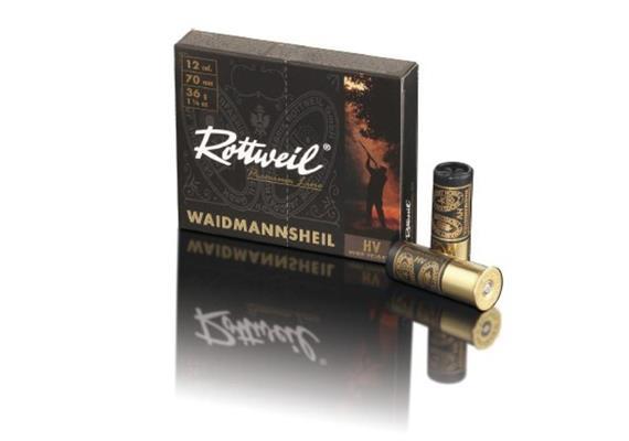 Rottweil 12/70 WheilSchwarz 36g No1-4.0mm 10Schuss