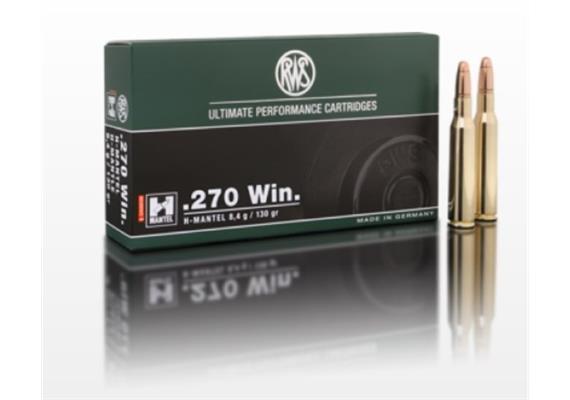 RWS .270 Win H-Mantel 8.4g HMK 20 Schuss