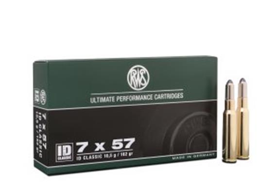 RWS 7x57 10.5g ID Classic 20 Schuss