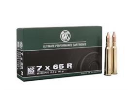 RWS 7x65R 10.5g KS 20 Schuss