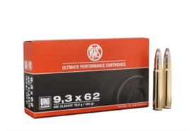RWS 9.3x62 293gr UNI Classic 20 Schuss