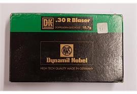 RWS Dynamit Nobel .30 R Blaser 10.7g DK 20 Schuss