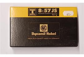RWS Dynamit Nobel 8x57JS 12.7g 20 Schuss