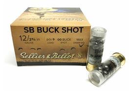 Sellier & Bellot 12/70 Buck Shot 8.43mm 25 Schuss
