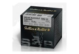Sellier & Bellot 300 AAC Blackout Subsonic 200 gr
