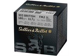 Sellier & Bellot 303Brit 180grs 50 Schuss