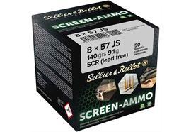 Sellier & Bellot 8x57JS SCR.Zink 140g 50 Schuss