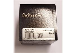 Sellier & Bellot 300 AAC BK 124grs FMJ 100 Schuss