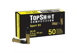 TopShot 22L.R Competition Sport 40 grs. 50 Schuss