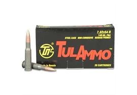 TulAmmo 7.62x54R 148Gr FMJ 20 Schuss